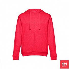 Sudadera TH Clothes Amsterdam rojo mezcla hombre