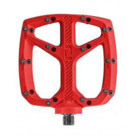 Pedal de plataforma On Off resina rojo