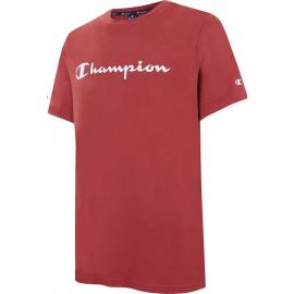 Camiseta Champion Cuello caja 214142 burdeos hombre