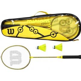 Set Raquetas badminton Wilson Minions