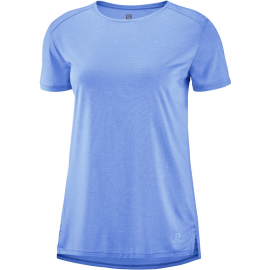 Camiseta Salomon Outline Summer azul mujer