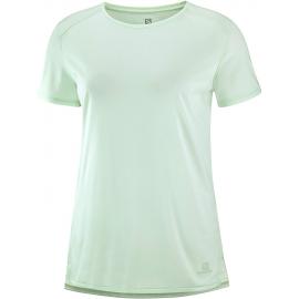 Camiseta Salomon Outline Summer verde mujer