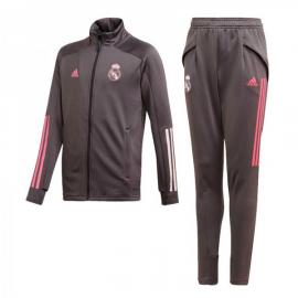 Chandal Adidas Real Madrid 20-21 junior gris