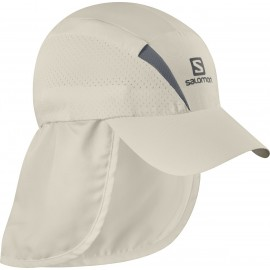 Gorra trail running Salomon Xa+Cap beige