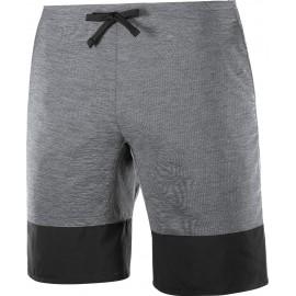 Pantalón corto trail running Salomon Xa Training gris hombre