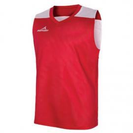 Camiseta Mercury Michigan reversible rojo blanco unisex