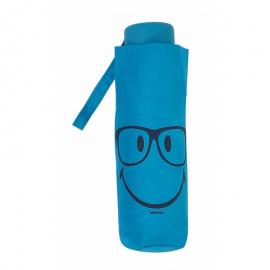 Paraguas plegable Smiley World 25172 azul