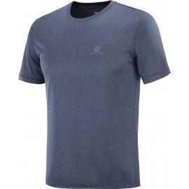 Camiseta outdoor Salomon Explore Tee azul hombre
