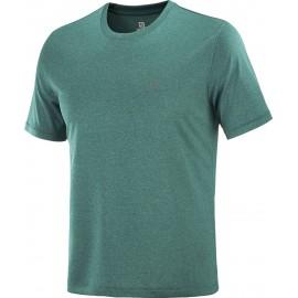 Camiseta outdoor Salomon Explore Tee verde hombre