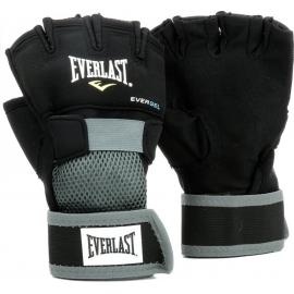 Guantillas Everlast Evergel Handwrap negro