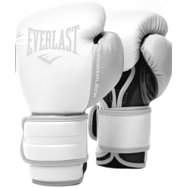 Guantes bóxeo Everlast Powerlock 2R Training blanco