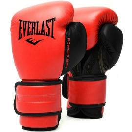 Guantes bóxeo Everlast Powerlock 2R Training rojo