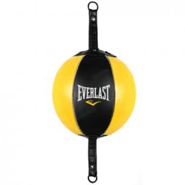 Saco Boxeo Everlast - Pera Loca- negro amarillo