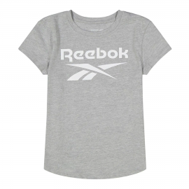 Camiseta Reebok Lock Up gris junior