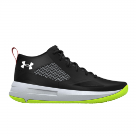 Zapatillas Baloncesto Under Armour Lockdown 5 negro unisex