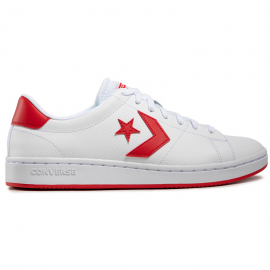 Zapatillas Converse All Court blanco rojo hombre