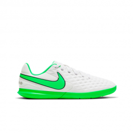 Botas Futbol Sala Nike Legend 8 Club blanco junior