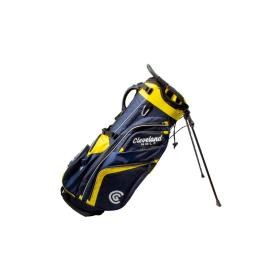 Bolsa trípode golf Cleveland Saturday Stand marino/amarillo
