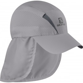 Gorra trail running Salomon Xa+Cap gris