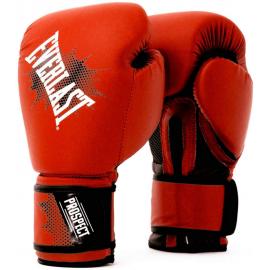 Guantes bóxeo Everlast Prospect Gloves 2018 rojo negro