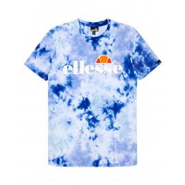Camiseta Ellesse Prado Tie Dye Tee azul hombre