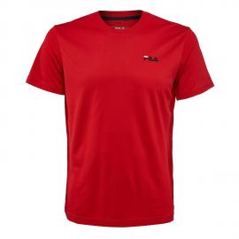 Camiseta Fila Logo Small rojo junior