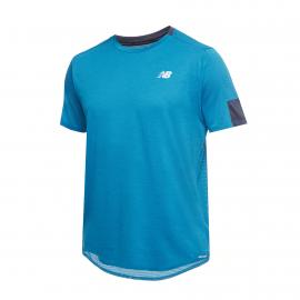 Camiseta New Balance Fast Flight azul hombre