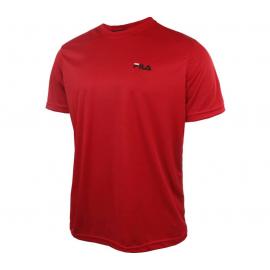 Camiseta Fila Logo Small rojo hombre