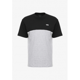 Camiseta Vans Colorblock negro gris jaspeado hombre