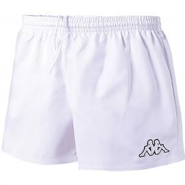 Pantalón corto Kappa Kiamon blanco hombre