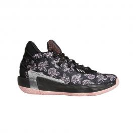 Zapatillas Baloncesto Adidas Dame Rose City 7 negro unisex