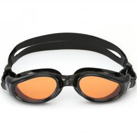 Gafas natación Aquasphere Kaiman negro lente naranja