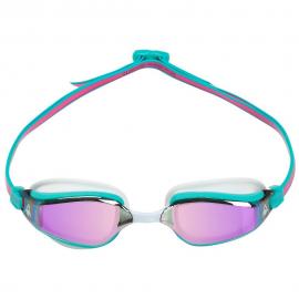 Gafas natación Aquasphere Fastlane rosa turquesa espejo