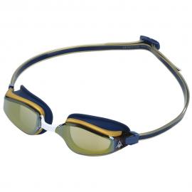 Gafas natación Aquasphere Fastlane azul oro espejo dorado