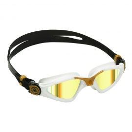 Gafas natación Aquasphere Kayenne blanco oro espejo