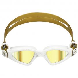 Gafas natación Aquasphere Kayenne Small blanco oro espejo