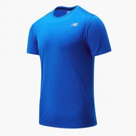 Camiseta running New Balance Impact Run royal hombre