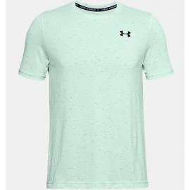 Camiseta entrenamiento Under Armour Seamless verde  hombre