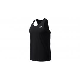 Camiseta New Balance Accelerate Singlet negro hombre