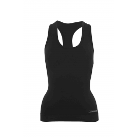 Camiseta fitness Joma Brama Classic negro mujer