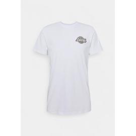 Camiseta New Era Metallic Tee LA Lakers blanco hombre