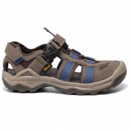 Sandalias trekking Teva Omnium 2 marrón azul hombre