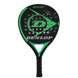 Pala padel Dunlop Rocket negro/verde
