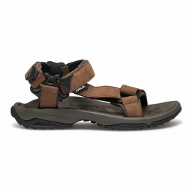 Sandalias trekking Teva Terra Fit Lite Leather marrón hombre