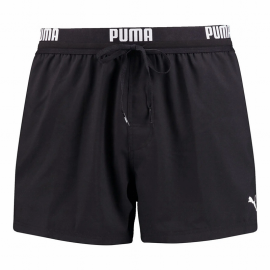 Bañador Puma Swim Logo Short Lenght negro hombre