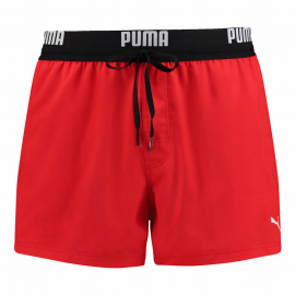 Bañador Puma Swim Logo Short Lenght rojo hombre
