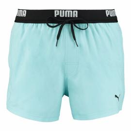 Bañador Puma Swim Logo Short Lenght turquesa hombre