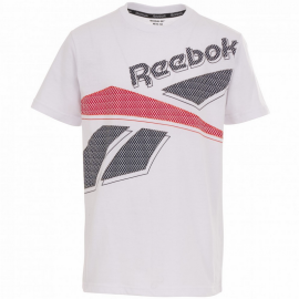 Camiseta Reebok Big Intl blanco niño