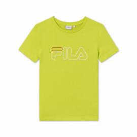 Camiseta manga corta Fila Ladan lima mujer