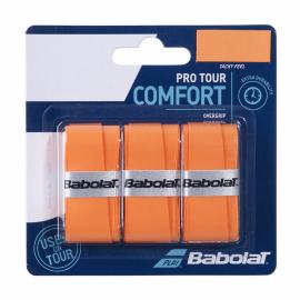 Overgrip de tenis y pádel Babolat Pro Tour naranja